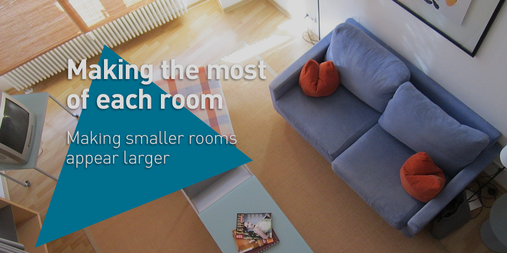 making rooms appear smaller image - DIY campaign 2 post 1