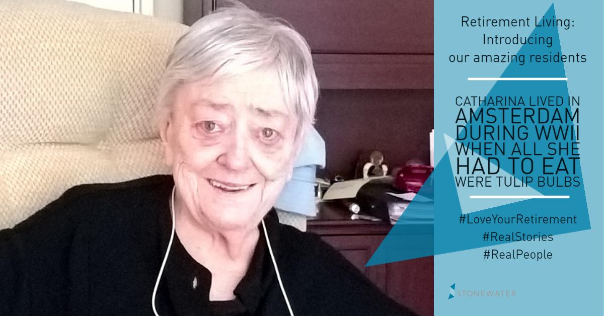 Retirement Living - interesting resident story - Catharina 2