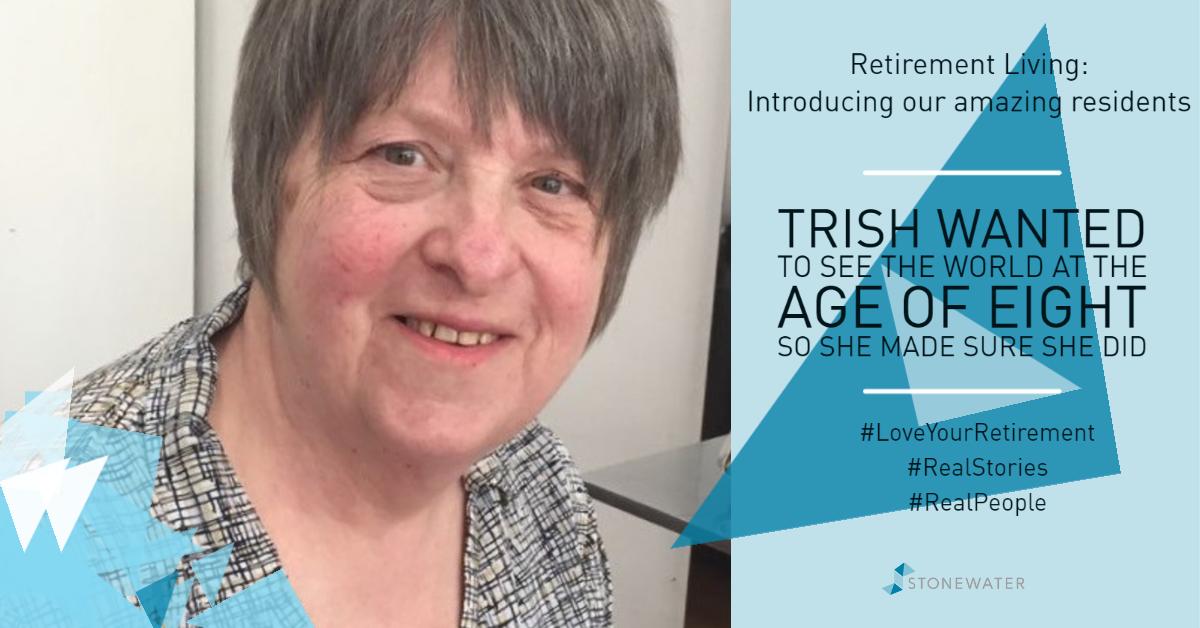 Retirement Living - interesting resident story - Trish - Author (1)