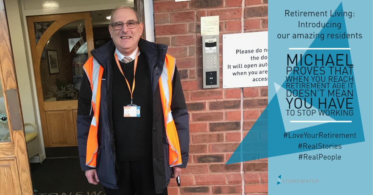 Retirement Living - interesting resident story - Michael train driver (1)