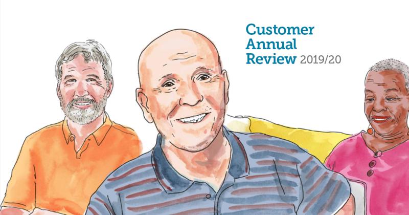 Customer Annual Report 2019 2020
